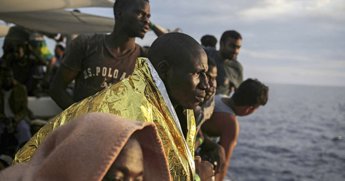 As the route to Europe closes, migrants journey through grief