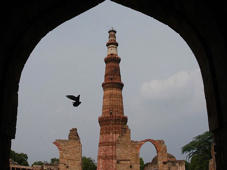 Qutub Minar turns green. Here's why