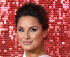 Sam Faiers attending the ITV Gala 2017 held at the London Paladium, London.
