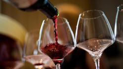 a glass of wine: Alcohol the key to living past 90?