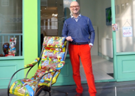 'Bargain Hunt' star and painter David Harper painted over an antique rocking chair, and no one is happy about it.