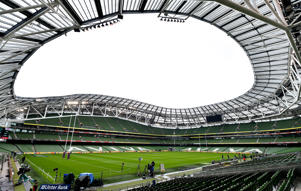 Dublin , Ireland - 10 March 2018: A general view of the Aviva Stadium prior to the NatWest Six Nations Rugby Championship match between Ireland and Scotland at the Aviva Stadium in Dublin. (Photo By Brendan Moran/Sportsfile via Getty Images)