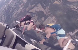 Would you dare to try this heart-stopping helicopter jump?