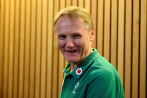 Rugby Union - Six Nations Championship - Ireland vs Scotland - Aviva Stadium, Dublin, Republic of Ireland - March 10, 2018   Ireland head coach Joe Schmidt during the press conference after the match   REUTERS/Clodagh Kilcoyne