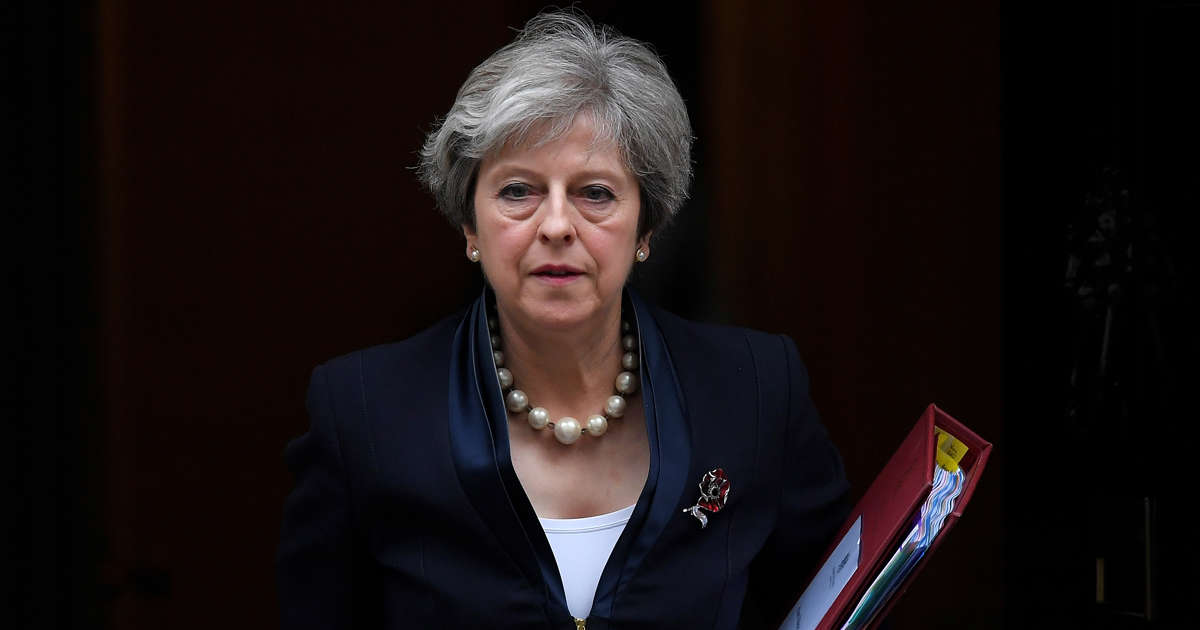 "UK's May says ""highly likely"" Russia responsible for poisoning of ex-spy"