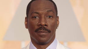 Eddie Murphy arrives at the 87th Annual Academy Awards in Hollywood, California on February 22, 2015.