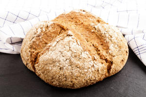Freshly baked Irish soda bread