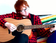 Meet the American scientist who looks exactly like Ed Sheeran