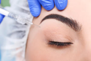 I had a patient who wanted a brow lift because she thought she looked grumpy all the time: I sent her for a brow wax instead. It took 15 minutes, she looked great, and she saved herself $5,000. I've also seen patients get results similar to eyelid lifts with over-the-counter firming serums and eyelid-lift creams. The results are temporary, but they do work to reduce lines and puffiness. Don't miss these weird plastic surgery procedures you had no idea existed.