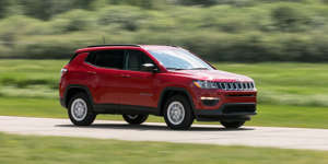 Normcore, Tested: 2018 Jeep Compass 4x4 Automatic: Imagine an average small crossover, only one wearing a Jeep badge. That's the Compass Sport. Read the full review and see photos at Car and Driver.