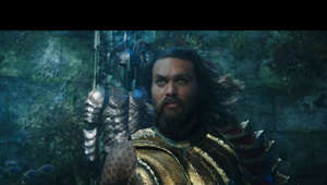 "a close up of a person: www.Facebook.com/AquamanMovie www.Twitter.com/AquamanMovie www.Instagram.com/AquamanMovie www.AquamanMovie.com  From Warner Bros. Pictures and director James Wan comes an action-packed adventure that spans the vast, visually breathtaking underwater world of the seven seas, ""Aquaman,"" starring Jason Momoa in the title role.  The film reveals the origin story of half-human, half-Atlantean Arthur Curry and takes him on the journey of his lifetime—one that will not only force him to face who he really is, but to discover if he is worthy of who he was born to be…a king.  The film also stars Amber Heard (""Justice League,"" ""Magic Mike XXL"") as Mera, a fierce warrior and Aquaman's ally throughout his journey; Oscar nominee Willem Dafoe (""Platoon,"" ""Spider-Man 2"") as Vulko, council to the Atlantean throne; Patrick Wilson (""The Conjuring"" films, ""Watchmen"") as Orm/Ocean Master, the present King of Atlantis; Dolph Lundgren (""The Expendables"" films) as Nereus, King of the Atlantean tribe Xebel; Yahya Abdul-Mateen II (Netflix's ""The Get Down"") as the vengeful Black Manta; and Oscar winner Nicole Kidman (""The Hours,"" ""Lion"") as Arthur's mom, Atlanna; as well as Ludi Lin (""Power Rangers"") as Captain Murk, Atlantean Commando; and Temuera Morrison (""Star Wars: Episode II – Attack of the Clones,"" ""Green Lantern"") as Arthur's dad, Tom Curry.  Wan directs from a screenplay by David Leslie Johnson-McGoldrick (""The Conjuring 2"") and Will Beall (""Gangster Squad,"" TV's ""Training Day""), story by Geoff Johns & James Wan and Will Beall, based on characters from DC, Aquaman created by Paul Norris and Mort Weisinger.  The film is produced by Peter Safran and Rob Cowan, with Deborah Snyder, Zack Snyder, Jon Berg, Geoff Johns and Walter Hamada serving as executive producers.  Wan's team behind the scenes includes such frequent collaborators as Oscar-nominated director of photography Don Burgess (""The Conjuring 2,"" ""Forrest Gump""), his five-time editor Kirk Morri (""The Conjuring"" films, ""Furious 7,"" the ""Insidious"" films), and production designer Bill Brzeski (""Furious 7"").  They are joined by costume designer Kym Barrett (""The Matrix"" trilogy, ""The Amazing Spider-Man"") and composer Rupert Gregson-Williams (""Wonder Woman"").  Warner Bros. Pictures Presents a Safran Company Production, a James Wan Film, ""Aquaman.""  The film is set to hit theaters on December 21, 2018, in 3D and 2D and IMAX, and will be distributed worldwide by Warner Bros. Pictures, a Warner Bros. Entertainment Company."