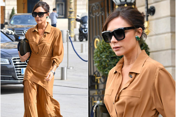 Slide 1 of 82: PARIS, FRANCE - MARCH 13, 2018 - Victoria Beckham arrives at the Ritz Hotel in Paris on March 13 2018