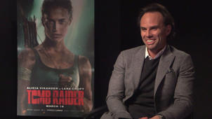 Walton Goggins Interview - 'Tomb Raider'