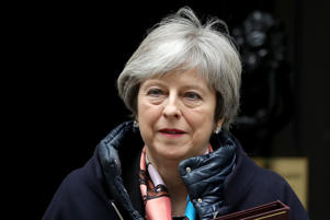 Prime Minister Theresa May l