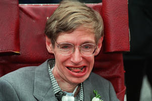 Stephen Hawking in 1995