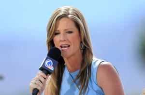 Kelly Tilghman of the Golf Channel.
