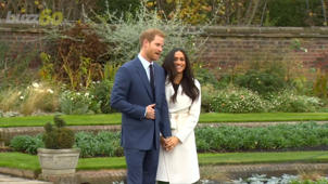 a man that is standing in the grass: Meghan Markle Has Expensive Clothes...But Who Gets the Bill?