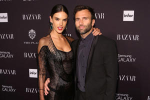 NEW YORK, NY - SEPTEMBER 05: Alessandra Ambrosio and Jamie Mazur attend the Harper's Bazaar ICONS Celebration at The Plaza Hotel on September 5, 2014 in New York City. (Photo by Taylor Hill/FilmMagic)