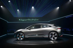 Design philosophy behind new I-Pace all-electric SUV