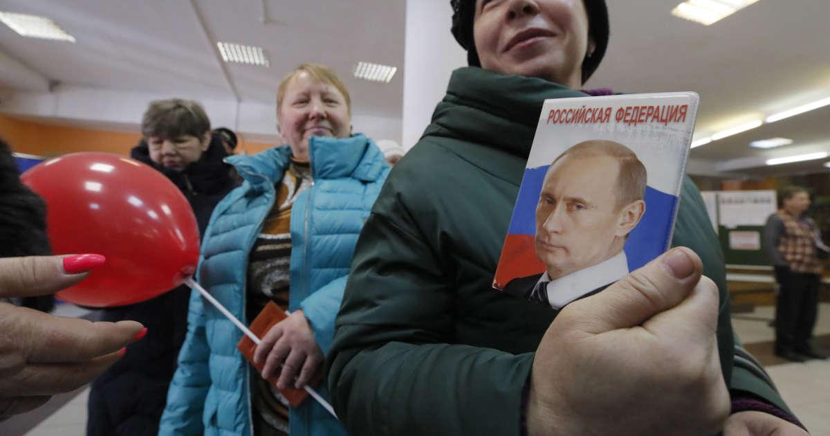 Vladimir Putin Wins 4th Term Amid Reports of Rampant Voter Fraud