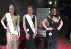 Facing cruel superstitions, albino beauty queen crowned in Zimbabwe
