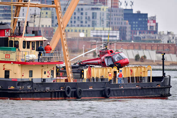 Pilots safety equipment in NY helicopter crash was easier to escape than passengers