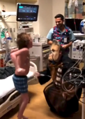 Doctor dressed as Chewbacca tells boy he's getting a new heart