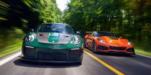 Outer Limits: Chevrolet Corvette ZR1 vs. Porsche 911 GT2 RS: The most powerful production versions of the Corvette and 911 probe the boundaries of road-car capabilities. Read more, see photos, and find out the winner at Car and Driver.