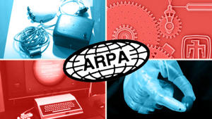 Arpa, which became Darpa, has had a huge role in the invention of GPS, the first mouse (top left), micro-engineering, robotics and the creation of the internet