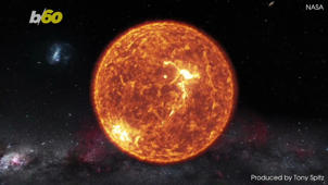 a star filled sky: The Sun Sings a Song in New Audio Recorded by NASA and the ESA