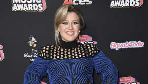 Kelly Clarkson attends the 2018 Radio Disney Music Awards at Loews Hotel on Friday, June 22, 2018, in Los Angeles.