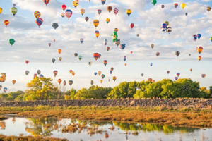 The balloon festival is not to be missed (Getty Images)