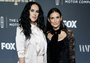 CAPTION: NEW YORK, NY - SEPTEMBER 23: Rumer Willis and Demi Moore attend 'Empire' and 'Star' celebrate FOX's new Wednesday night at One World Observatory on September 23, 2017 in New York City. (Photo by John Lamparski/Getty Images)
