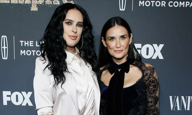 Dia 1 van 39: CAPTION: NEW YORK, NY - SEPTEMBER 23: Rumer Willis and Demi Moore attend 'Empire' and 'Star' celebrate FOX's new Wednesday night at One World Observatory on September 23, 2017 in New York City. (Photo by John Lamparski/Getty Images)