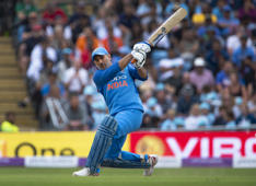 What is your favourite MS Dhoni shot?