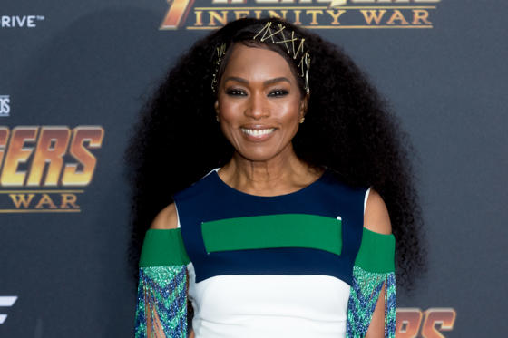 Slide 1 of 45: LOS ANGELES, CA - APRIL 23:  Angela Bassett attends the 'Avengers: Infinity War' World Premiere on April 23, 2018 in Los Angeles, California.  (Photo by Greg Doherty/Patrick McMullan via Getty Images)