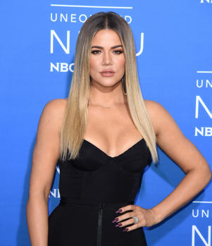 Khloé Kardashian attends the NBCUniversal 2017 Upfront on May 15, 2017 in New York City.  / AFP PHOTO / ANGELA WEISS        (Photo credit should read ANGELA WEISS/AFP/Getty Images)