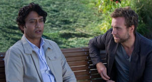Life Of Pi - Irrfan Khan and Rafe Spall