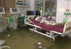 Bihar hospital turns 'aquarium' after rains