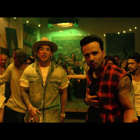 "a group of people standing in a room: ""Despacito"" disponible ya en todas las plataformas digitales: https://UMLE.lnk.to/DOoUzFp   Sigue a Luis Fonsi:  Official Site: http://www.luisfonsi.com/  Facebook: https://www.facebook.com/luisfonsi/  Twitter: https://twitter.com/LuisFonsi  Instagram: https://www.instagram.com/luisfonsi   Music video by Luis Fonsi performing Despacito. (C) 2017 Universal Music Latino"