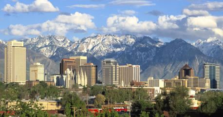 File photo of Salt Lake City.