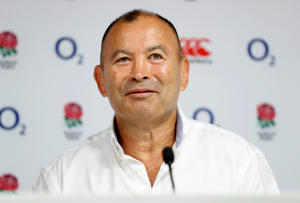 Rugby Union - England - Eddie Jones Press Conference - Twickenham Stadium, London, Britain - August 2, 2018   England head coach Eddie Jones during the press conference   Action Images via Reuters/John Sibley