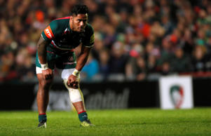 Rugby Union - Premiership - Leicester Tigers vs Newcastle Falcons - Welford Road Stadium, Leicester, Britain - April 27, 2018   Leicester Tigers' Manu Tuilagi   Action Images/Andrew Boyers