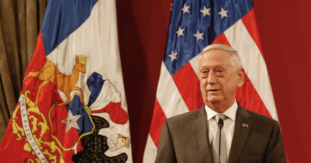 Mattis says further Taliban assaults likely in weeks ahead
