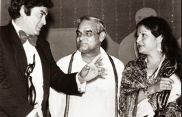 Flashback: Atal Bihari Vajpayee with Bollywood celebrities