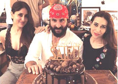Inside Saif Ali Khan's birthday party