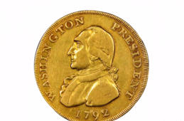 George Washington coin thought to be owned by Washington himself sells for $1.74M