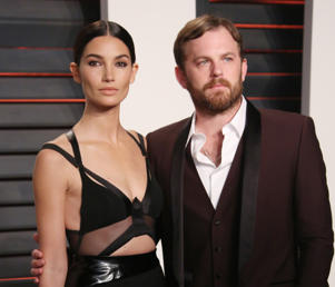 Vanity Fair Oscar Party, Los Angeles, America - 28 Feb 2016 Lily Aldridge and Caleb Followill