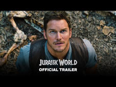 "a close up of Chris Pratt: Jurassic World - Official Trailer (HD) The Park is Open - June 12 http://www.jurassicworldmovie.com/  Steven Spielberg returns to executive produce the long-awaited next installment of his groundbreaking Jurassic Park series, Jurassic World.  Colin Trevorrow directs the epic action-adventure based on the novel ""Jurassic Park"" by Michael Crichton.  The screenplay is by Rick Jaffa & Amanda Silver and Trevorrow & Derek Connolly.  Frank Marshall and Patrick Crowley join the team as producers.  Jurassic World will be released in 3D by Universal Pictures on June 12, 2015."