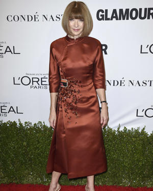 Anna Wintour arrives at the Glamour Women of the Year Awards at NeueHouse Hollywood on Monday, Nov. 14, 2016, in Los Angeles. (Photo by Jordan Strauss/Invision/AP)